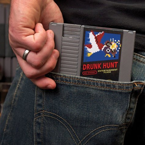 Concealable Entertainment Flask - Drunk Hunt